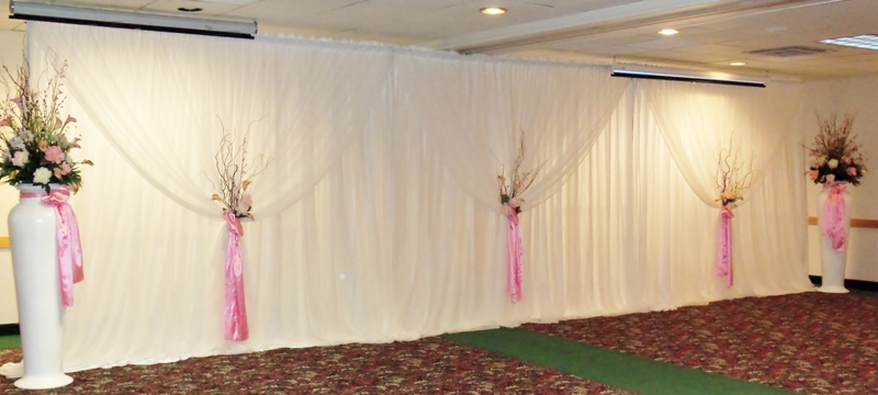 Wedding backdrops backgrounds decorations columns click to enlarge junglespirit Gallery