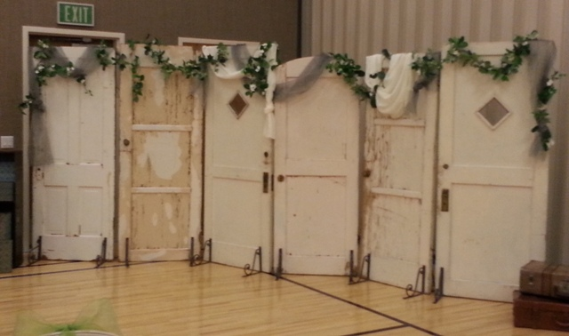 Old Doors For Vintage Chic Backdrop Use Inside Or Out