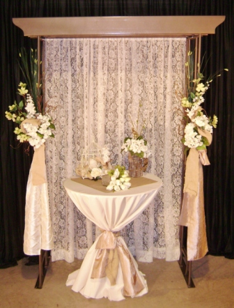 Wedding backdrops backgrounds decorations columns junglespirit Choice Image