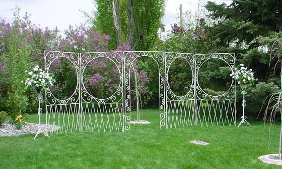 Wedding garden arches white iron arches country creations rental wedding garden arches white iron arches country creations rental decorations junglespirit Gallery
